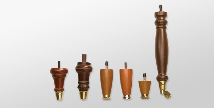 piedini-legno-ottone
